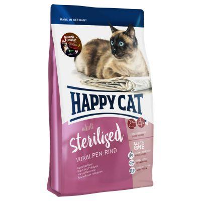 Happy Cat Supreme Sterilised Voralpen-Rind
