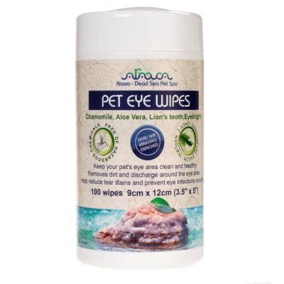 Arava Pet Eye Wipes 100 doekjes
