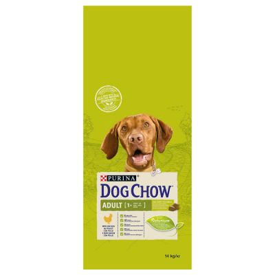 Purina Dog Chow Adult con pollo - 2 x 14 kg - Pack Ahorro