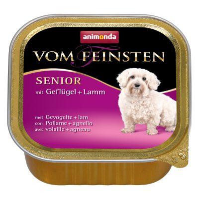 Animonda Vom Feinsten Senior 6 x 150 g - siipikarja & lammas
