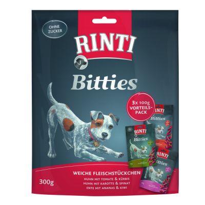 RINTI Bitties -lajitelma 3 x 100 g - 3 makua
