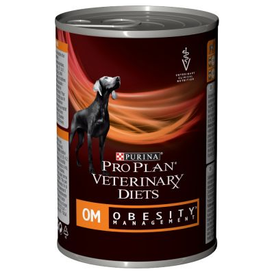 Purina Veterinary Diets Canine Mousse OM Obesity - 3 x 400 g