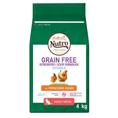 Nutro Katze Grain Free Adult Sterilized Huhn