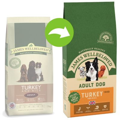 James Wellbeloved Adult Turkey & Rice - 15 kg