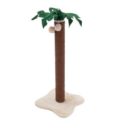 Coco Palm -raapimistolppa - ruskea / beige