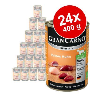 Animonda GranCarno Sensitive -säästöpakkaus 24 x 400 g - kana