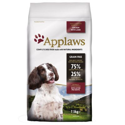 Applaws Small & Medium Breed Adult Chicken with Lamb - 15 kg
