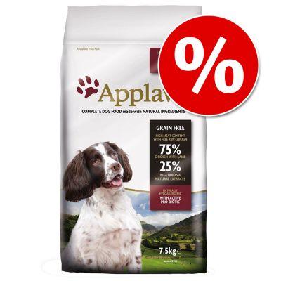 Applaws-koiranruoka 7,5 kg erikoishintaan! - Small & Medium Breed Chicken & Lamb
