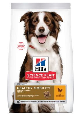 Hill's Adult 1+ Healthy Mobility Medium Science Plan con pollo - 14 kg