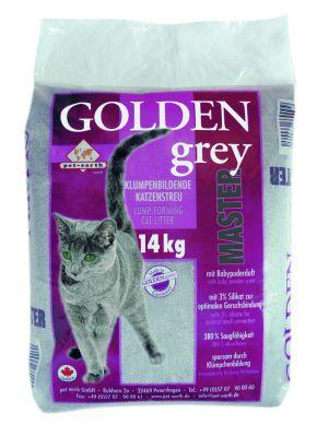 Golden Grey Master kattsand - Ekonomipack: 2 x 14 kg