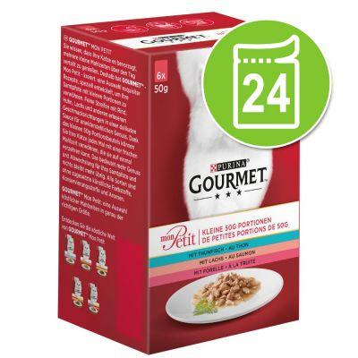 Gourmet Mon Petit 24 x 50 g - liha