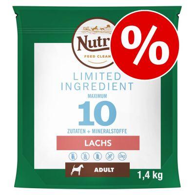 3 x 1,4 kg Nutro Limited Ingredients koiranruoka erikoishintaan! - Adult Small Breed Lamb