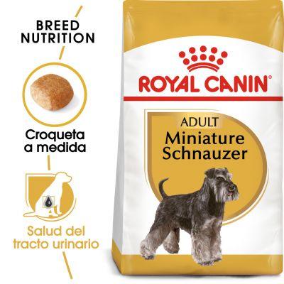 Royal Canin Schnauzer Miniatura Adult - 2 x 7,5 kg - Pack Ahorro