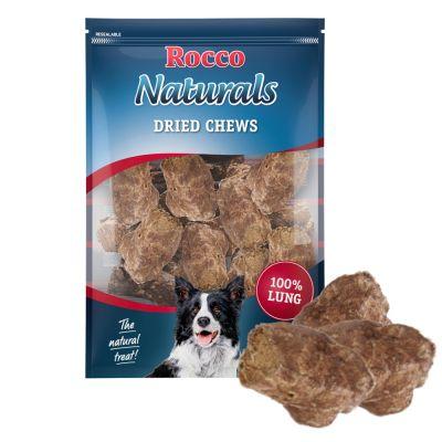 Rocco Naturals snacks de pulmón de buey para perros - 500 g