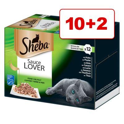 Sheba-rasialajitelma 12 x 85 g: 10 + 2 rasiaa kaupan päälle! - Sauce Lover