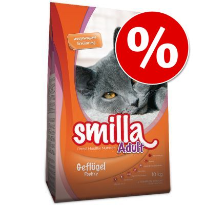 Smilla kissanruoka 10 kg erikoishintaan! - Adult, XXL-siipikarja