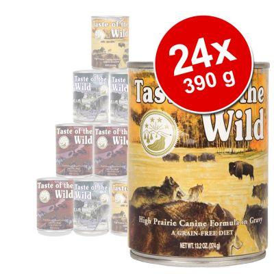 Pack Ahorro: Taste of the Wild 24 x 390 g - Sierra Mountain