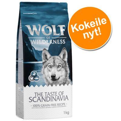 "Kokeile nyt: 1 kg Wolf of Wilderness Adult ""The Taste Of"" -kuivaruokaa - The Taste Of Canada"