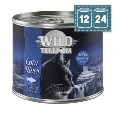 """Sparpaket Wild Freedom """"Cold River"""" - Seelachs & Huhn"""