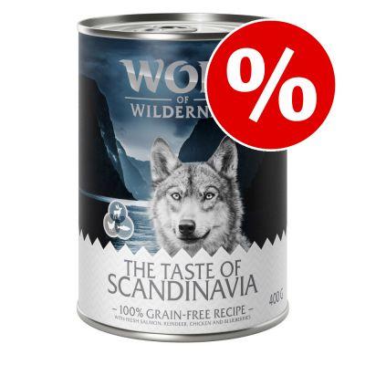 "Säästöpakkaus: Wolf of Wilderness ""The Taste Of"" 24 x 400 g - The Taste Of The Savanna"