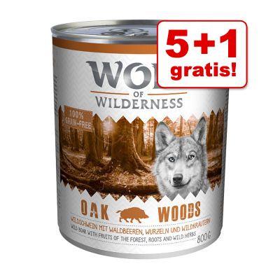 wolf-of-wilderness-6-x-800-g-tijdelijk-5-1-gratis-wild-hills-eend