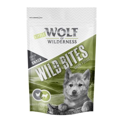 "Wolf of Wilderness Snack Wild Bites Junior ""Green Fields"" - Lam"