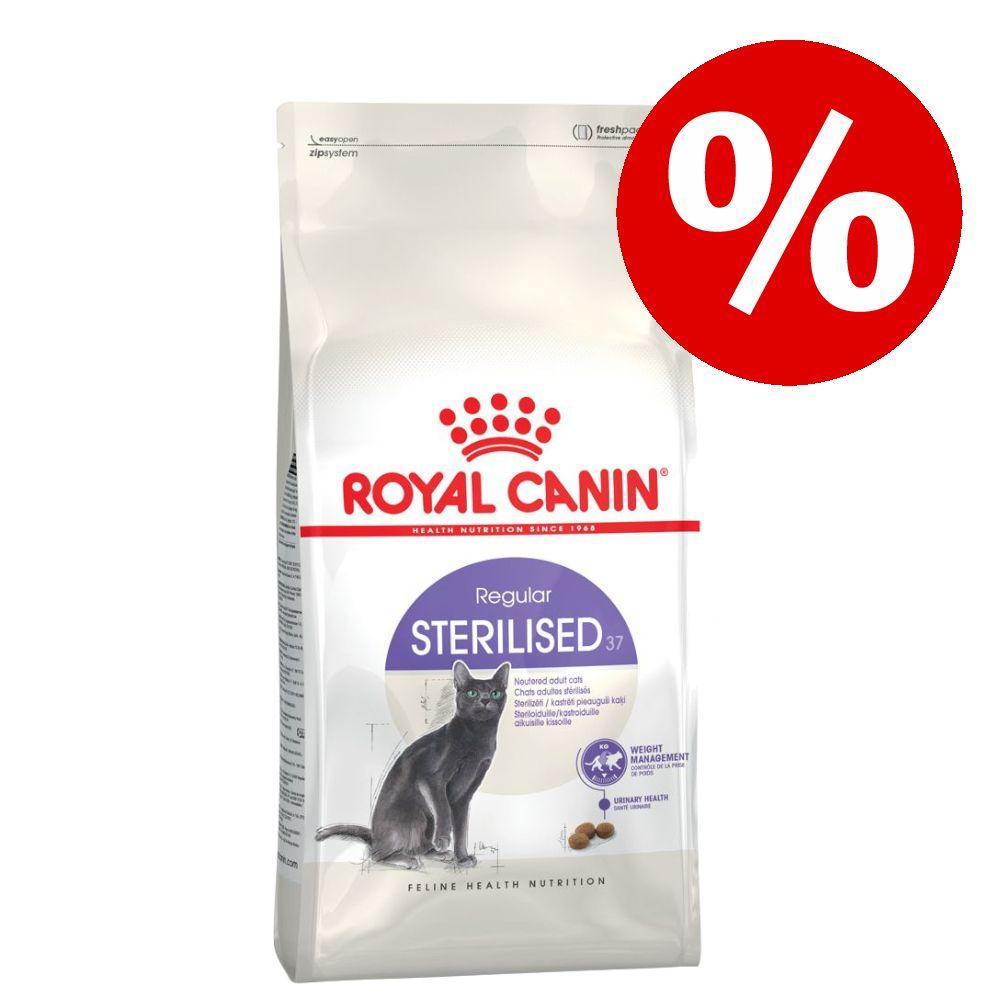 10 % rabatt! Små påsar Royal Canin kattfoder - Indoor 27 (2 kg)