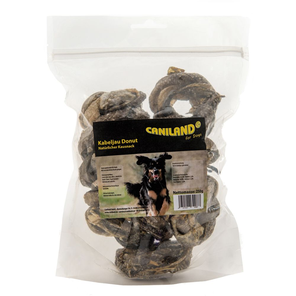 Caniland Kabeljau Donut - 250 g