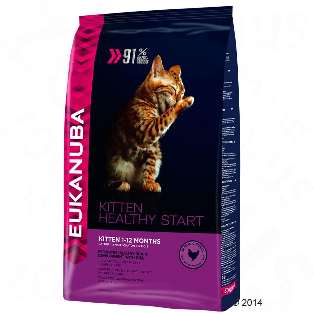 Foto Eukanuba Kitten Healthy Start - 4 kg Eukanuba per gattini