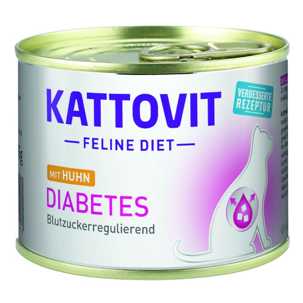 Image of Kattovit Diabete - Set %: 12 x 185 g Pollo