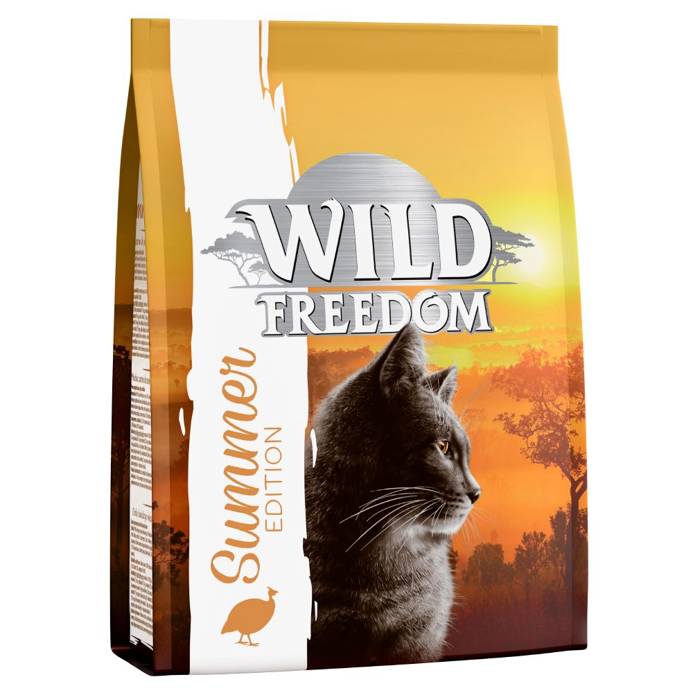 Förmånligt blandpack: Wild Freedom Adult Summer Edition torr- och våtfoder - 400 g torrfoder + 6 x 400 g våtfoder