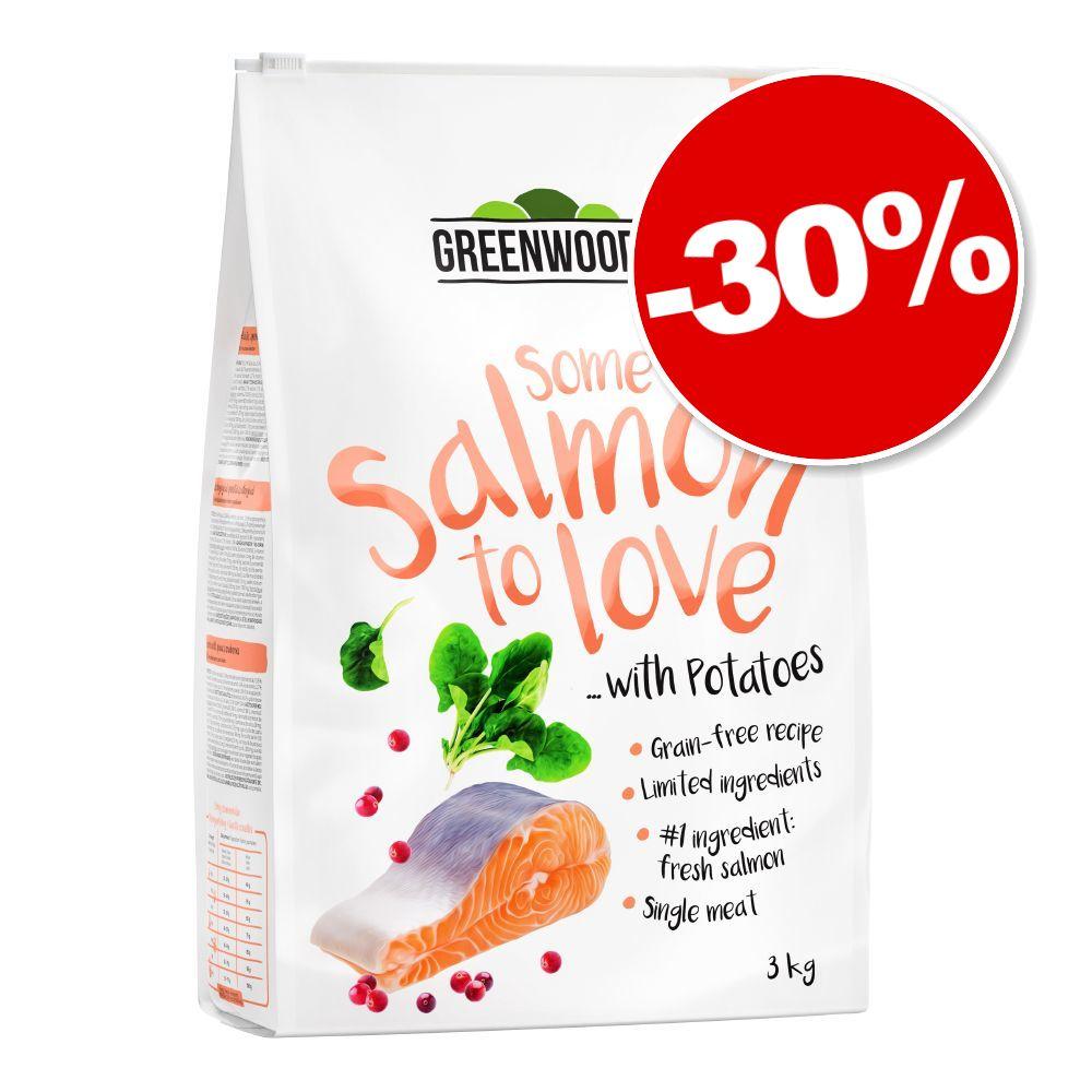3kg saumon, pommes de terre, épinards, canneberges Greenwoods Croquettes pour chat : 30 % de remise !