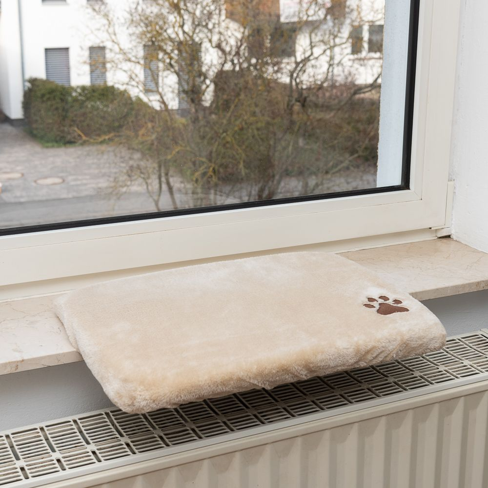 Fensterbrettauflage Plüschi - L 50 x B 35 x H 5 cm