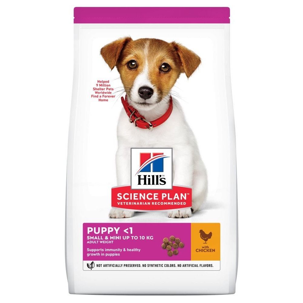 1.5kg Chicken Small & Mini Healthy Development Puppy Hill's Science Plan Dry Dog Food