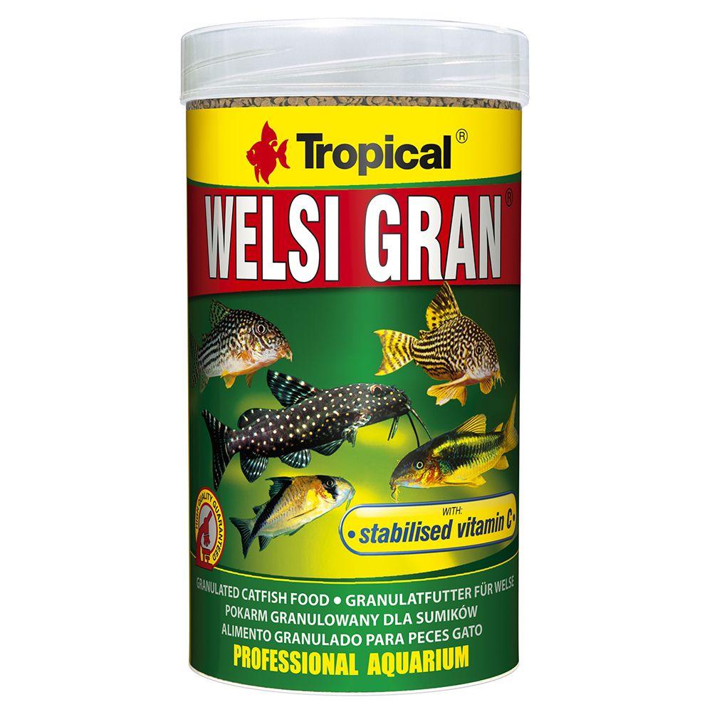 1L Tropical Welsi Gran - Nourriture pour poisson