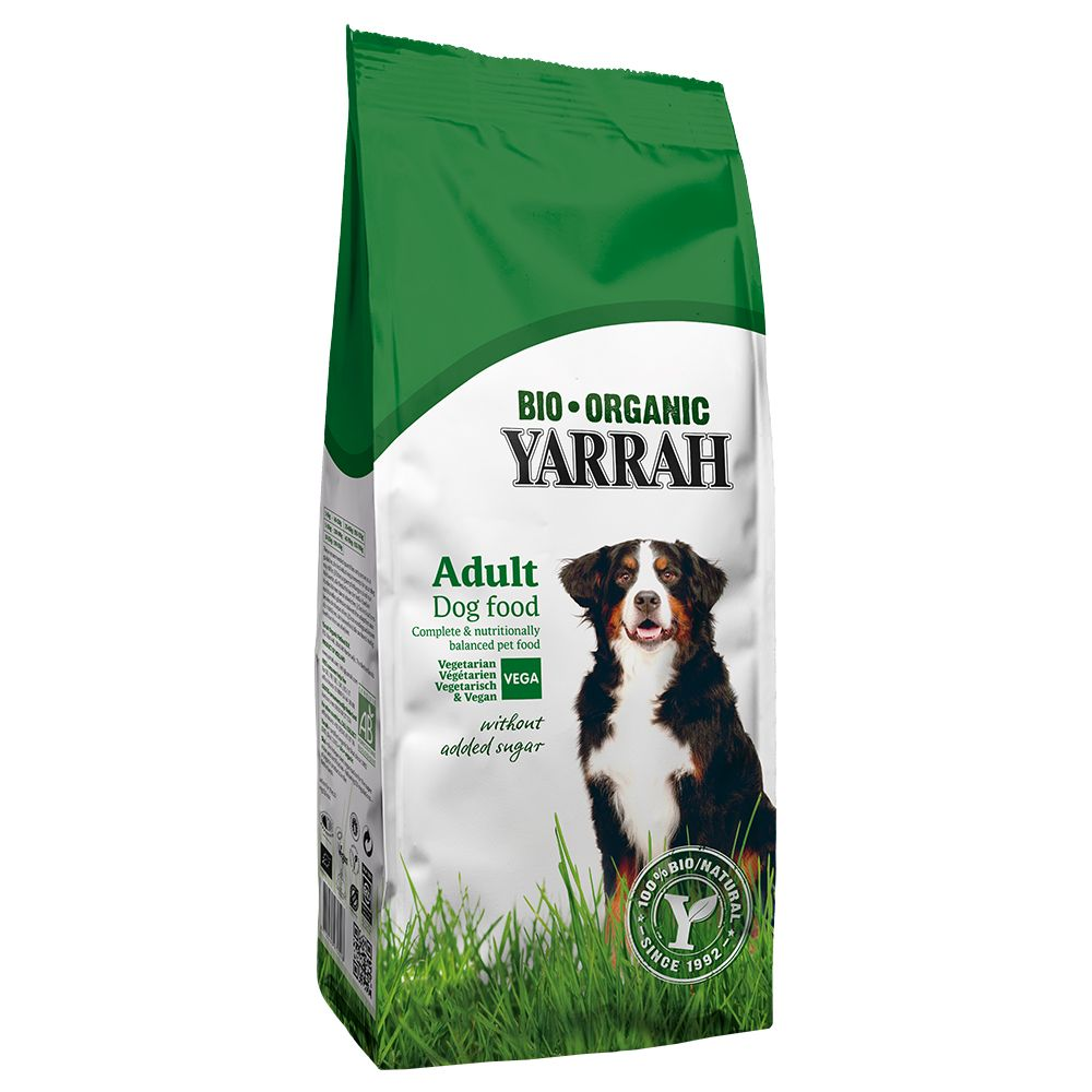 Yarrah Organic Vegetarian & Vegan is a digestible and tasty complete dog food. It is completely free from meat and meat by-products. Organic Dog Food Vegetaria...