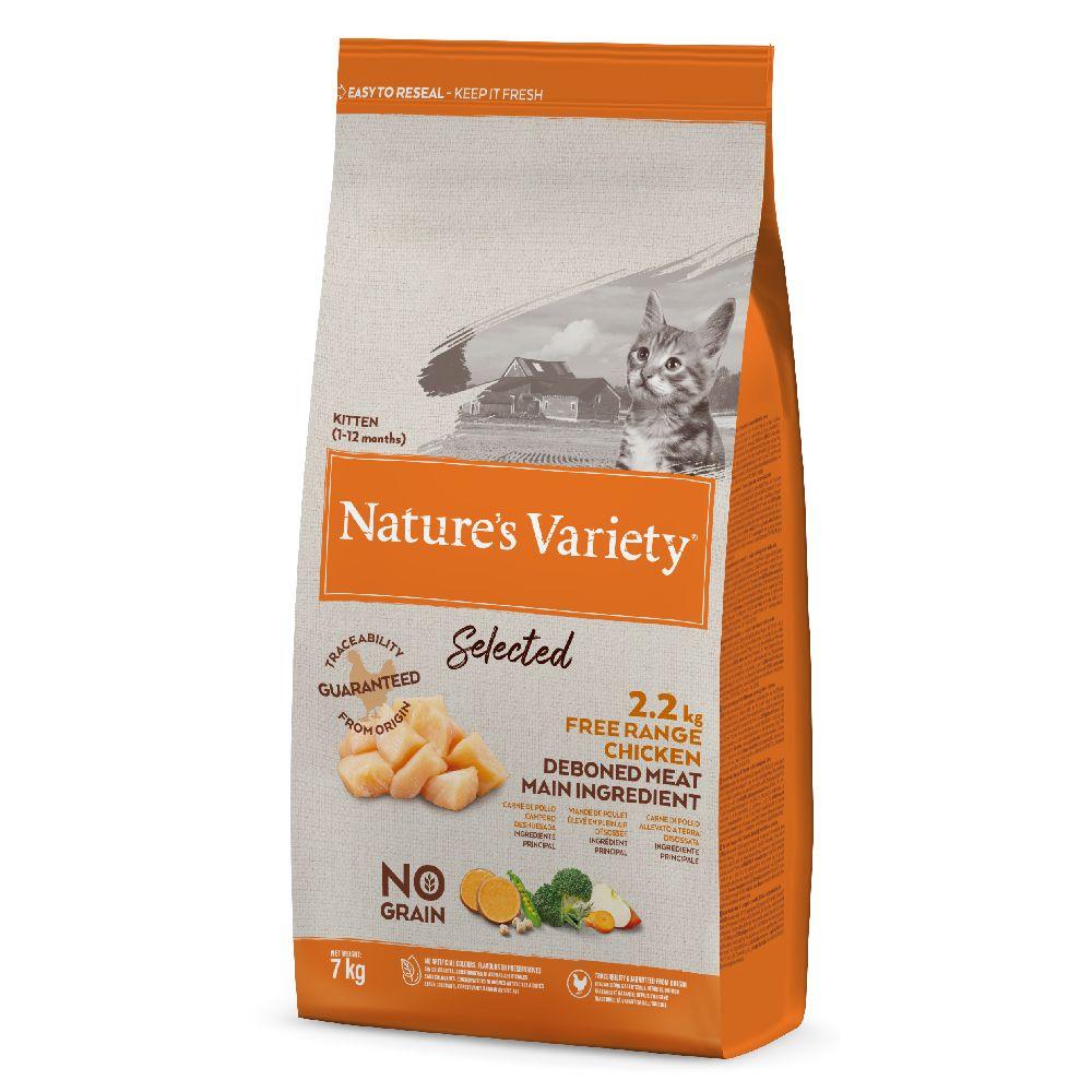 Nature's Variety Selected Kitten Free Range Chicken - 7 kg
