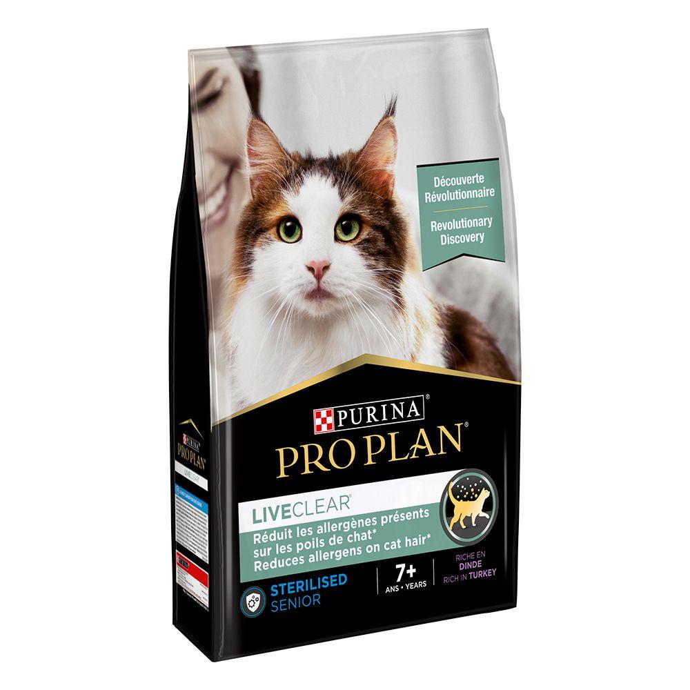 Pro Plan LiveClear Sterilised Adult 7+ Turkey - 2,8 kg