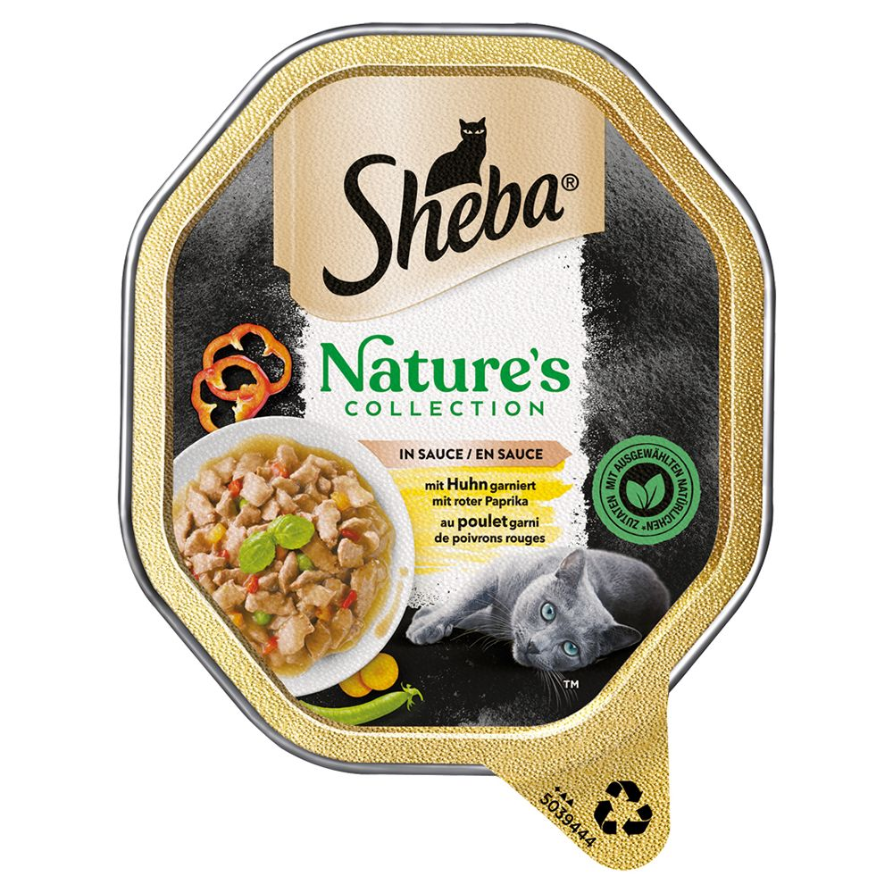 Sheba Nature's Collection in Sauce 22 x 85 g - Kyckling