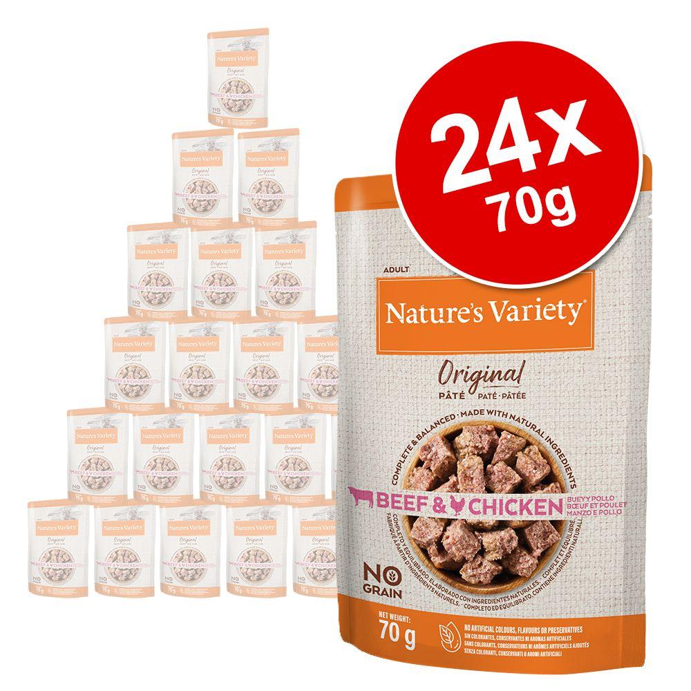 Ekonomipack: Nature's Variety Original Paté No Grain 24 x 70 g - Kyckling