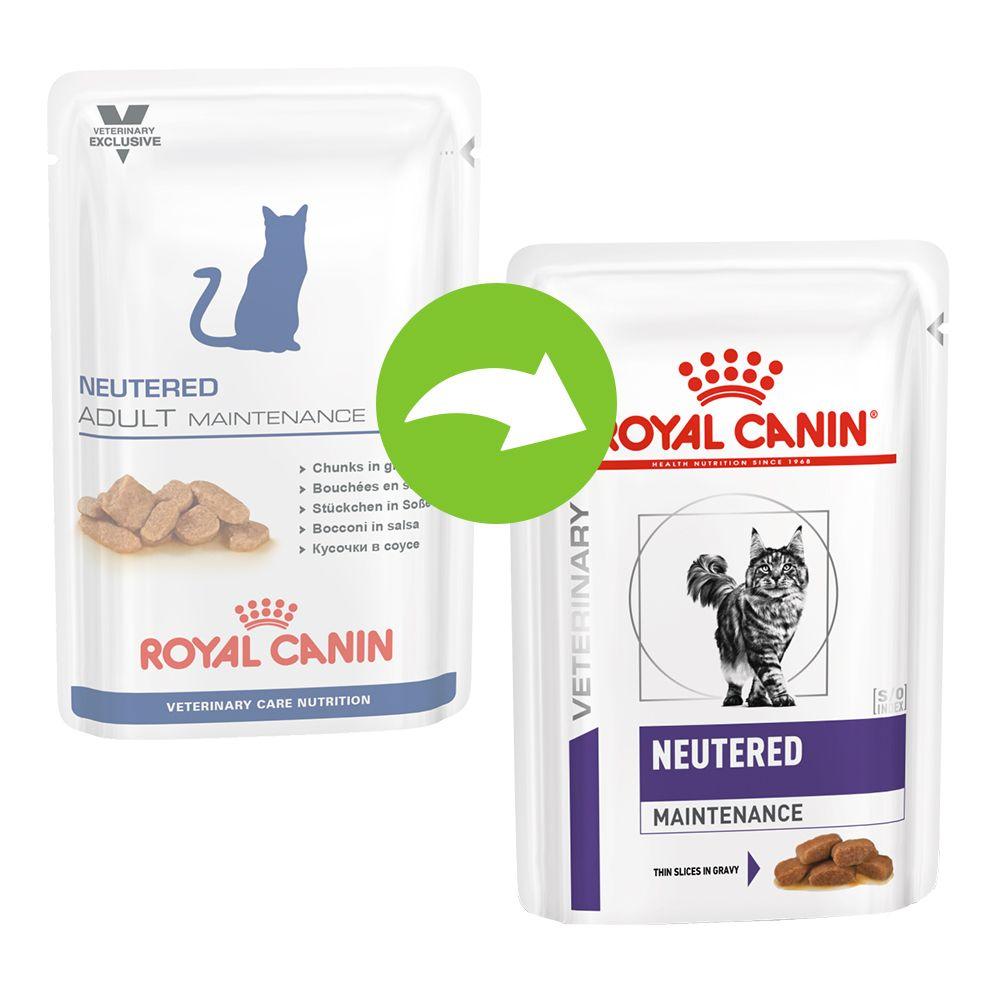 Royal Canin Neutered Adult Maintenance - Veterinary Health Nutrition - Ekonomipack: 24 x 85 g