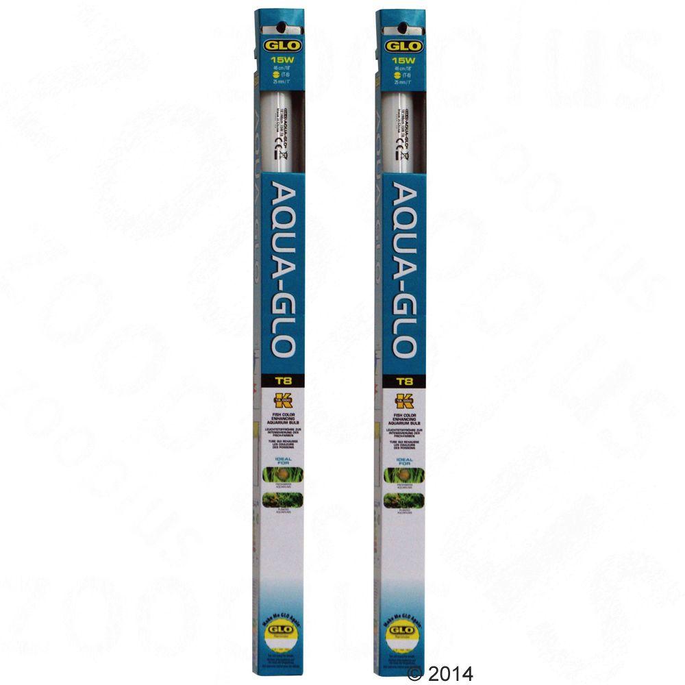 Lot de 2 tubes fluorescents Hagen Aqua-Glo - 2 x 30 W, L 89,5 cm