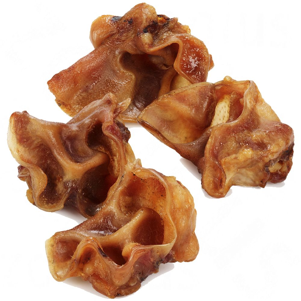 1kg Pigs' Ear Auricles Dog Treat Chews