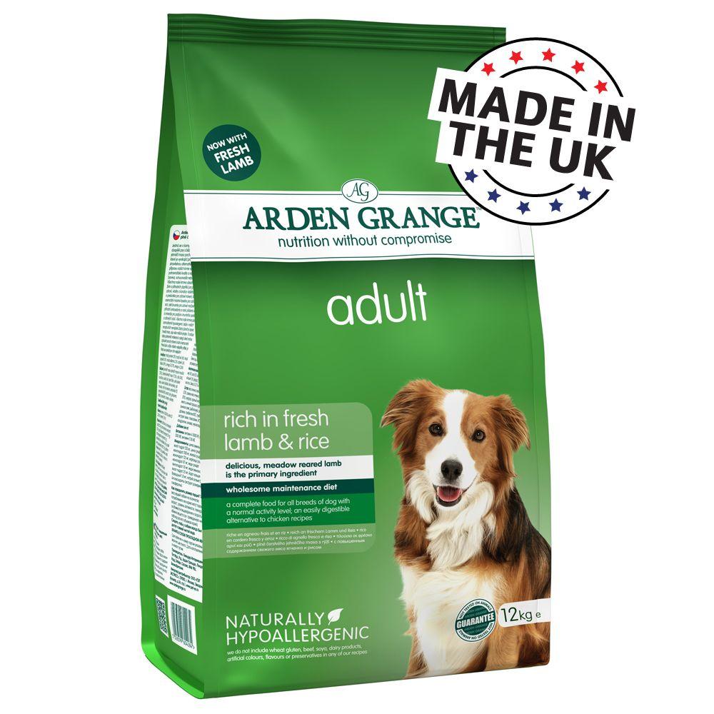 Image of Arden Grange Adult Agnello & Riso - 12 kg