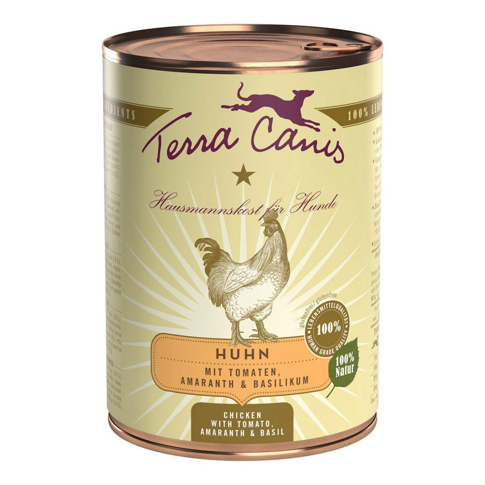 Terra Canis Mixed Trial Pack 12 x 400g - Menu: 6 Varieties