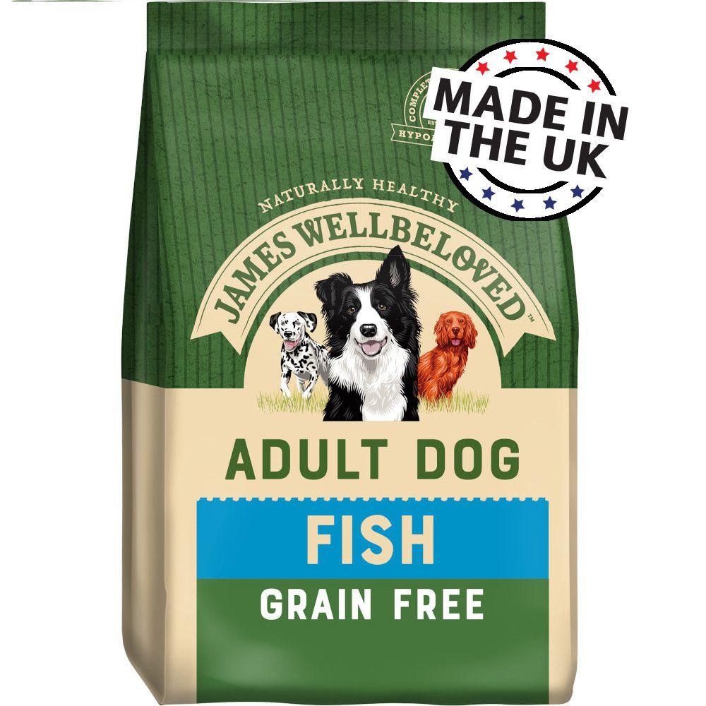 James Wellbeloved Adult Grain-Free - Fish & Vegetables - Economy Pack: 2 x 10kg