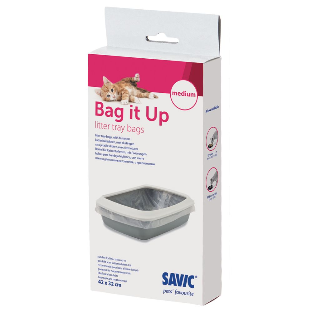 Large Savic Bag it Up Litter Tray Bags