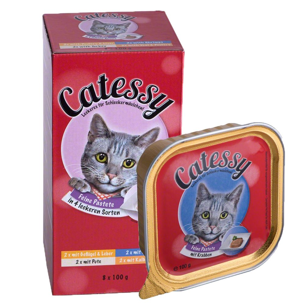 Chat Boîtes et sachets ★ Catessy Barquettes Catessy