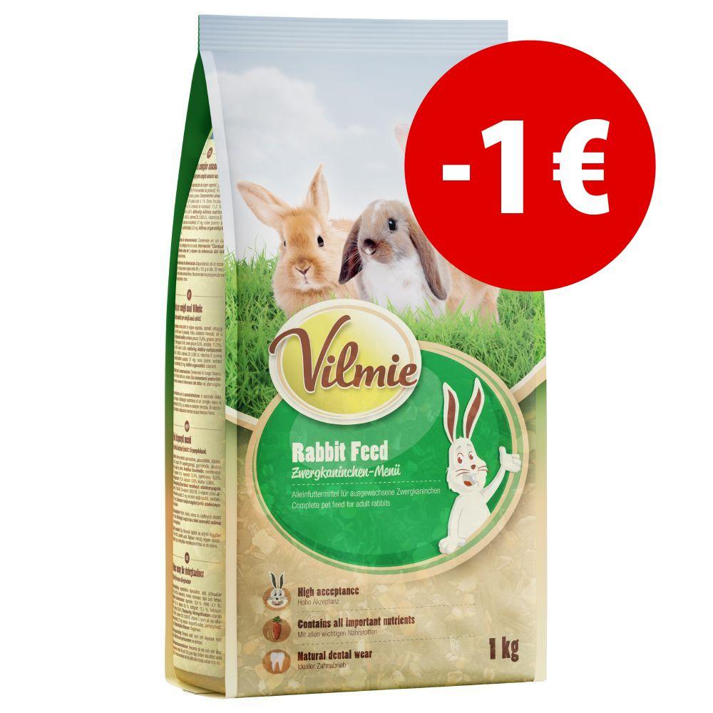 Image of Mangime per conigli nani Vilmie - Set %: 5 x 1 kg