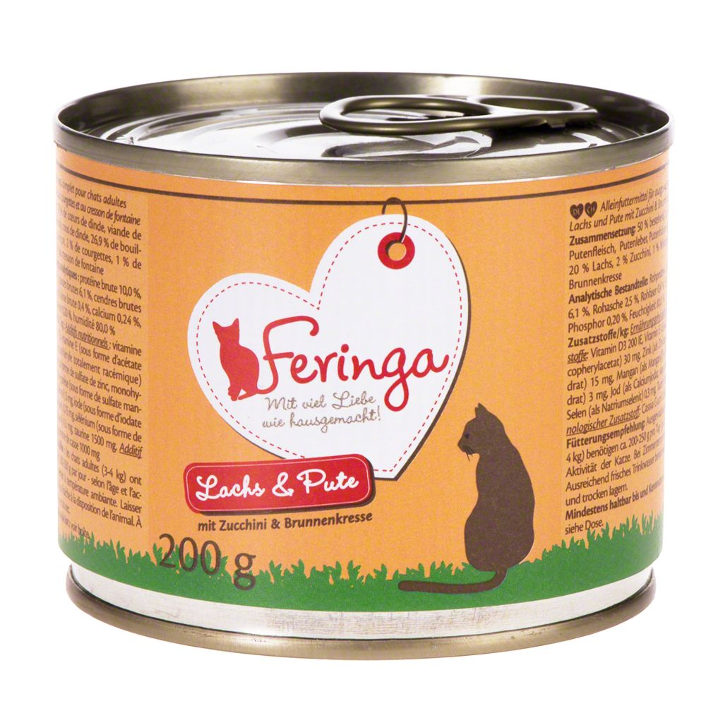 Poultry Baby Carrots & Dandelion Feringa Menu Duo Wet Cat Food